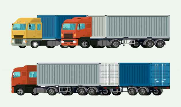 moveing with camion