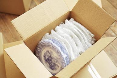بسته بندی ظروف آشپزخانه