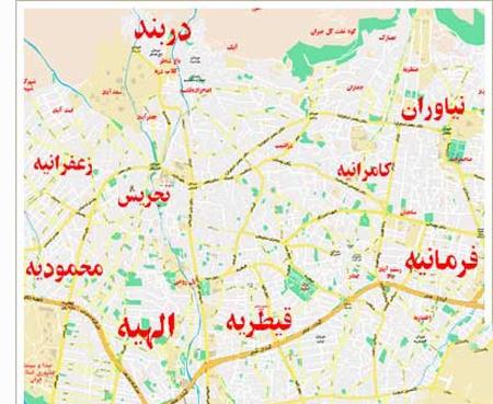 باربری در شمال تهران