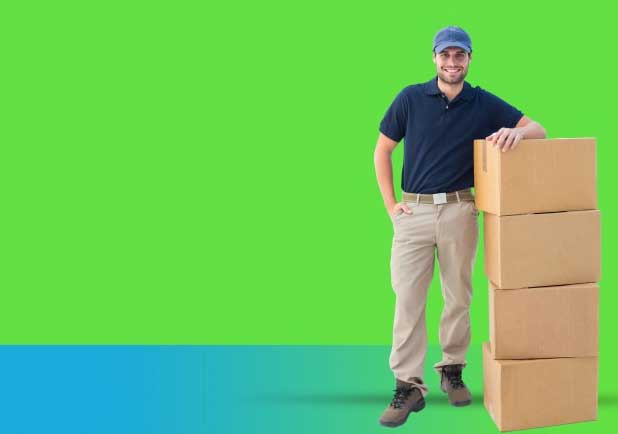کارگر بسته بندی و اسباب کشی