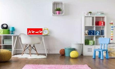 بسته بندی اتاق کودک در اسبابکشی
