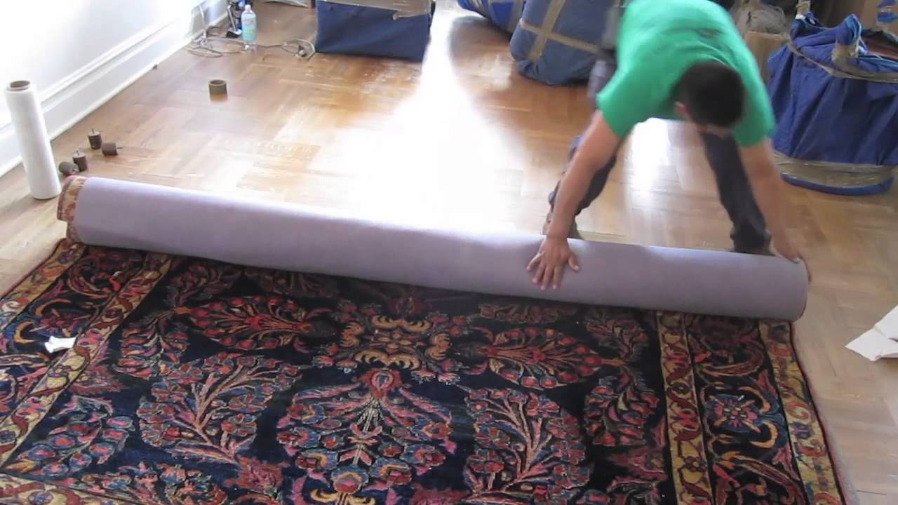 بسته بندی قالی
