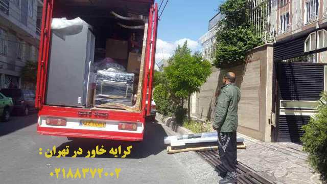کرایه وانت بار در تهران